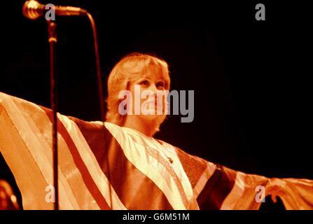 Agnetha Faltskog ABBA - Stock Photo
