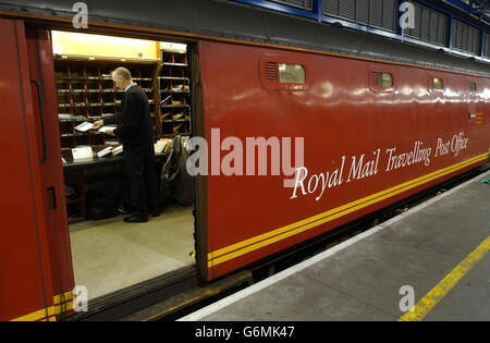 The Travelling Post Office - Stock Photo