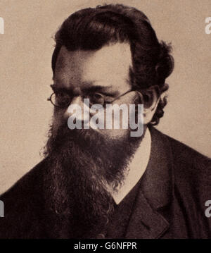 Ludwig Eduard Boltzmann (Vienna, 20 February 1844 - Duino, September 5, 1906) was a physicist, mathematician and - Stock Photo