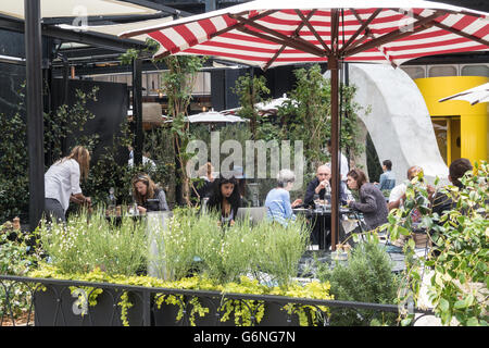The Standard High Line Hotel, NYC - Stock Photo