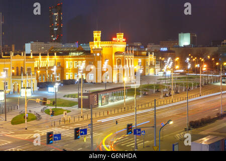 Wroclaw Main Railway Station, Poland - Stock Photo