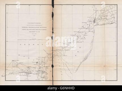 US Coast And Geodetic Survey Triangulation Station Mountaintop - Us coast and geodetic survey maps