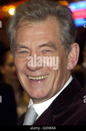 Sir Ian McKellen Lord of the Rings - Stock Photo