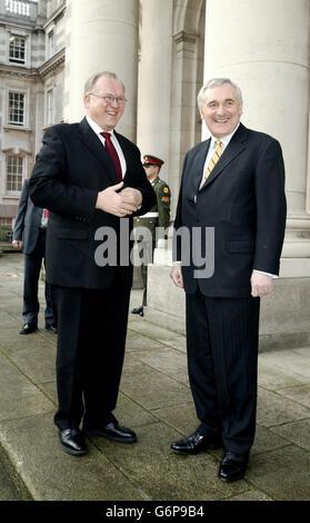 Swedish Prime Minister in Dublin - Stock Photo