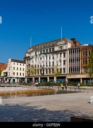 Debenhams department store near Market Square in Nottingham city centre Nottinghamshire England UK - Stock Photo