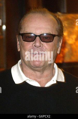 Jack Nicholson Something's Gotta Give - Stock Photo