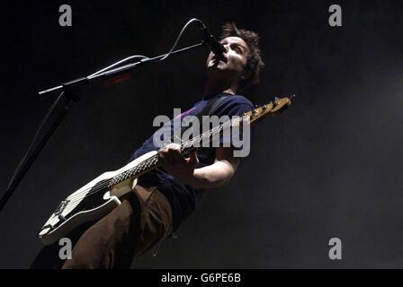 Mark Hoppus  Blink 182 - Stock Photo