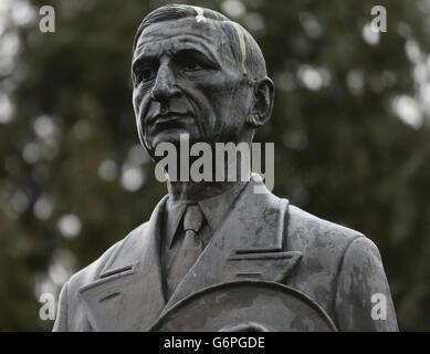 De Valera statue - Stock Photo