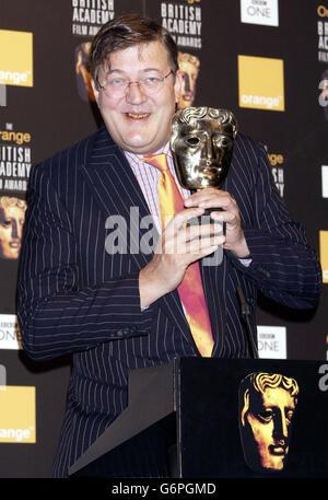 Stephen Fry BAFTA Fry - Stock Photo