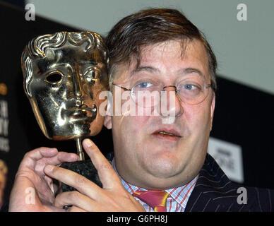 Stephen Fry Bafta Film Awards - Stock Photo