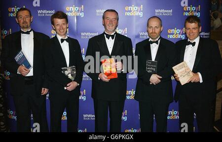 The Whitbread Book Awards 2003 - Stock Photo