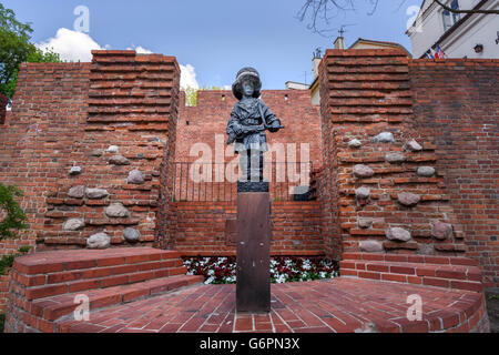Mały Powstaniec (the 'Little Insurgent') - Stock Photo