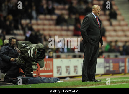 Soccer - FA Cup - Fourth Round - Sunderland v Kidderminster Harriers - Stadium of Light - Stock Photo