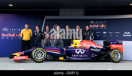 Formula One - 2014 Testing - Day One - Circuito de Jerez - Stock Photo