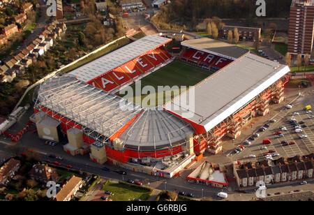 Charlton Athletic The Valley - Stock Photo