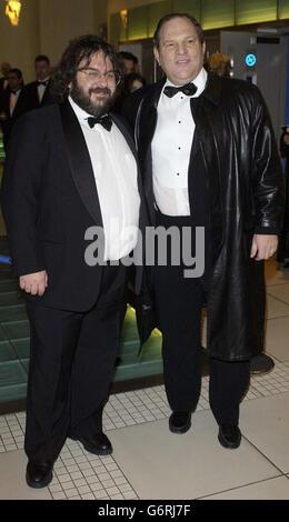 Peter Jackson ORANGE BAFTAS - Stock Photo
