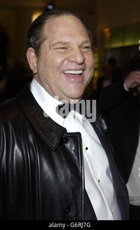 Harvey Weinstein ORANGE BAFTAS - Stock Photo