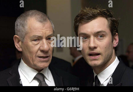 Ian McKellen BAFTAS - Stock Photo
