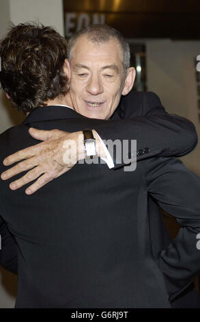 Ian McKellen ORANGE BAFTAS - Stock Photo