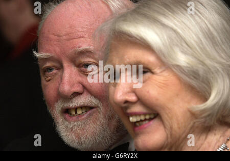 Attenborough Orange BAFTAS 2004 - Stock Photo