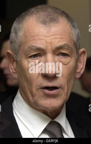 Sir Ian McKellen BAFTAS - Stock Photo