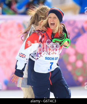 Olympic gold medalist Jamie Anderson and Olympic ...