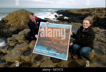 Alan Craig Giant's Causeway - Stock Photo