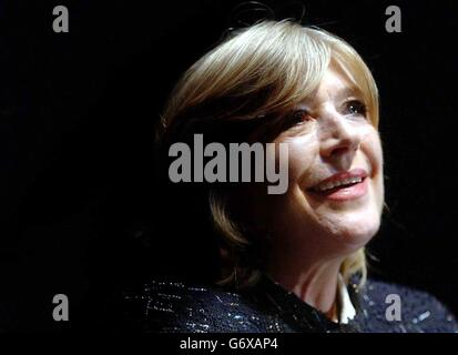 Singer Marianne Faithfull during a press conference at the Barbican Centre, central London, where she spoke about her first stage role in 30 years. She will star in The Black Rider, a play that focuses on a clerk who makes a pact with the Devil.