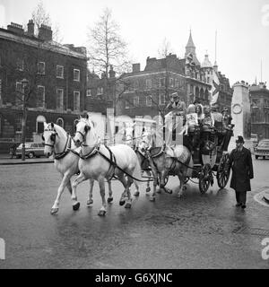 Customs and Traditions - St George's Day - Epping Sausages Gift - Whitehall - Stock Photo