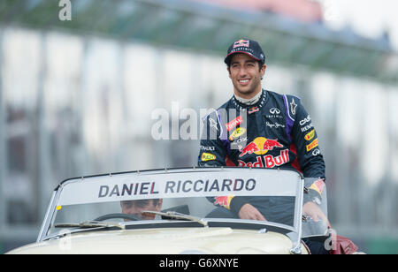 Motor Racing - Formula One World Championship - Australian Grand Prix - Race Day - Albert Park - Stock Photo