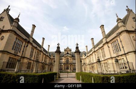 Oxford City Stock - Stock Photo
