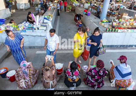 Siab Bazaar in Samarkand, Uzbekistan - Stock Photo