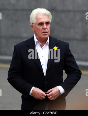 Max Clifford court case - Stock Photo
