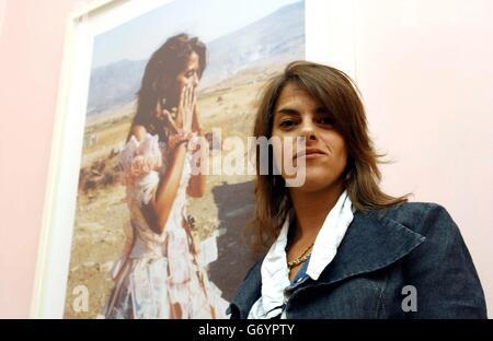 Tracy Emin - Exhibition - Stock Photo