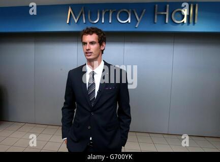 Andy Murray honoured - Stock Photo