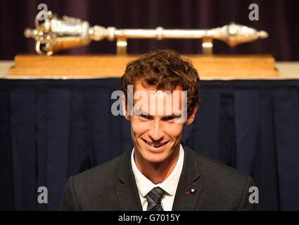 Andy Murray honoured - Stock Photo
