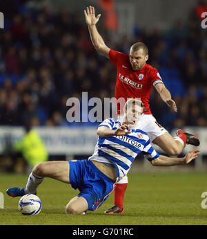 Soccer - Sky Bet Championship - Reading v Barnsley - Madejski Stadium - Stock Photo
