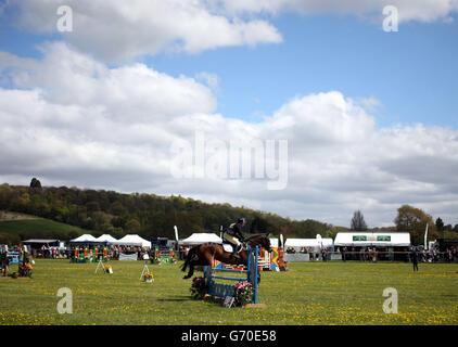 Equestrian - Symm International Horse Trials - Day One - Hambleden - Stock Photo