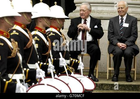 D-DAY Reunion Ceremony - Stock Photo