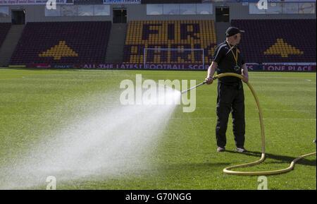 Soccer - Scottish Premiership - Motherwell v Celtic - Fir Park - Stock Photo