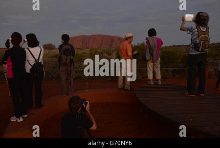 Royal visit to Australia and NZ - Day 16 - Stock Photo