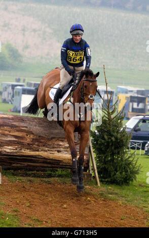 Equestrian - Symm International Horse Trials - Day Two - Hambleden - Stock Photo