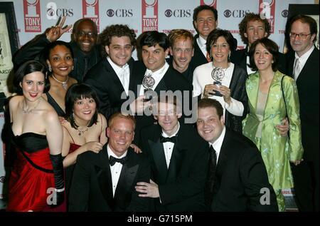 The Tony Awards 2004 - Stock Photo
