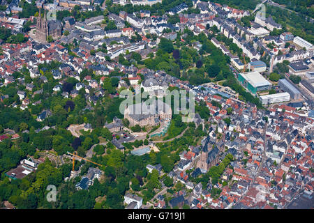 Marburg Castle, Marburg, Hesse, Germany Stock Photo
