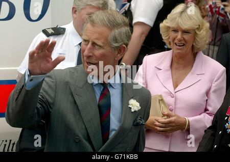 Prince Charles ' Bobby van' - Stock Photo