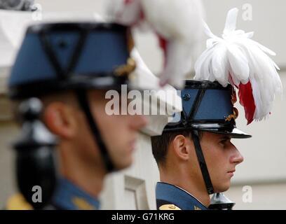 Legion d'Honneur medal presentation - Stock Photo