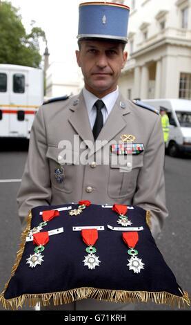 Legion d'Honneur medals - Stock Photo
