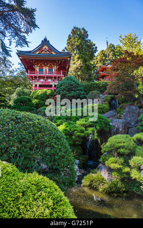 Temple Gate Japanese Tea Garden San Francisco Stock Photo Royalty Free Image 40126807 Alamy