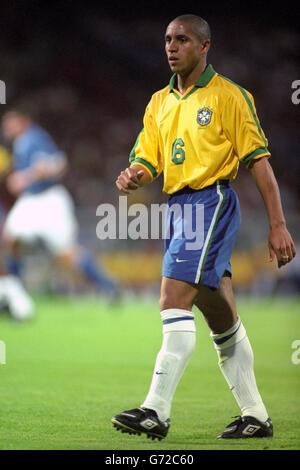 Soccer - Tournoi De France - Italy v Brazil - Stade de Gerland, Lyon - Stock Photo