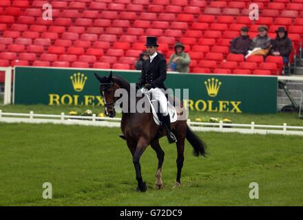 Equestrian - 2014 Mitsubishi Motors Badminton Horse Trials - Day Two - Stock Photo